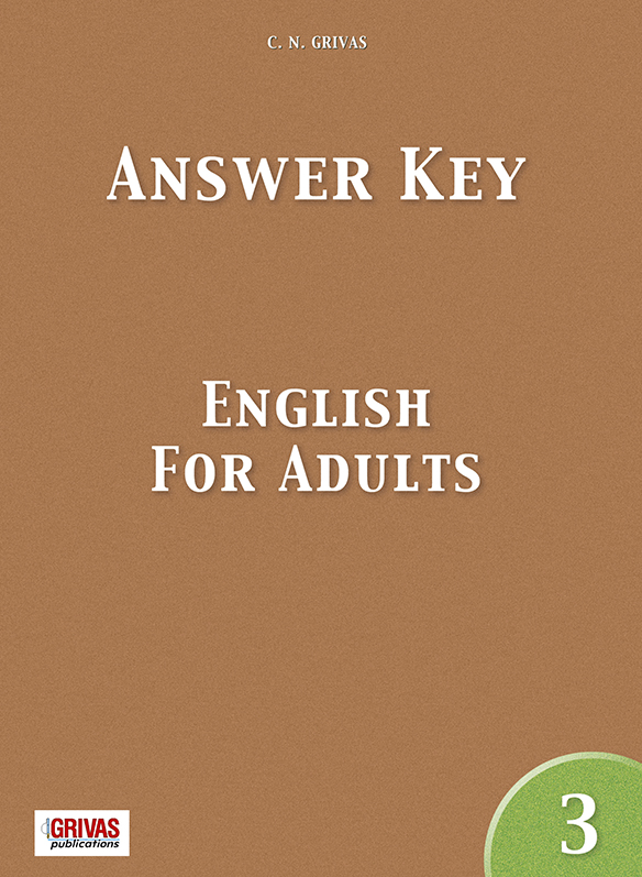English for Adults Answer Key