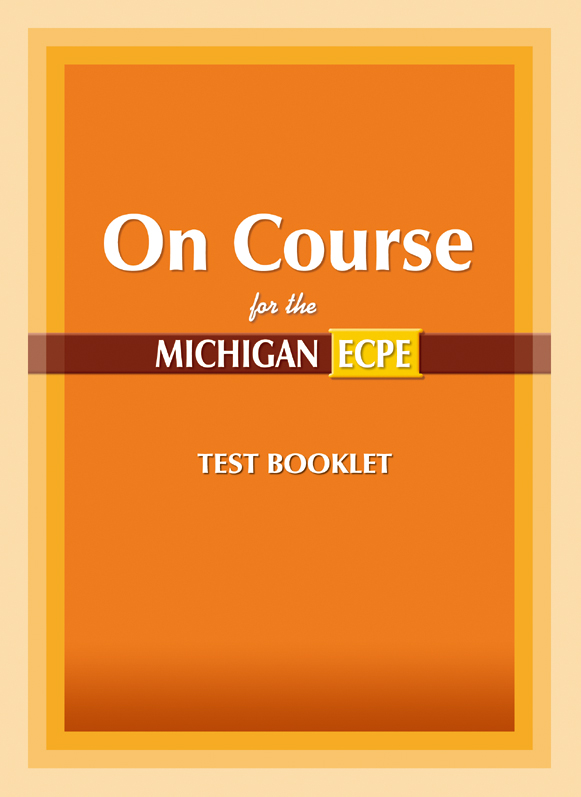 On Course for the ECPE (Test Booklet)